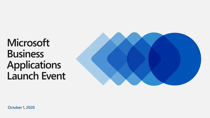 Banner Microsoft Business Applications Launch Event October 2020