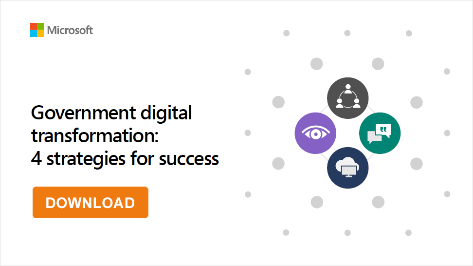 Image Download E-Book Government digital transformation 4 strategies for success