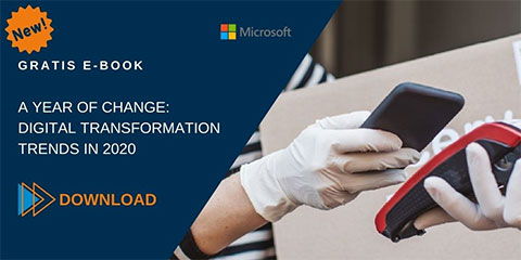 Banner e-book A Year of Change Digital Transformation Trends in 2020