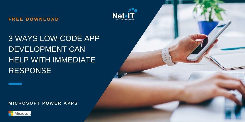 Banner Microsoft Ebook Low code app development
