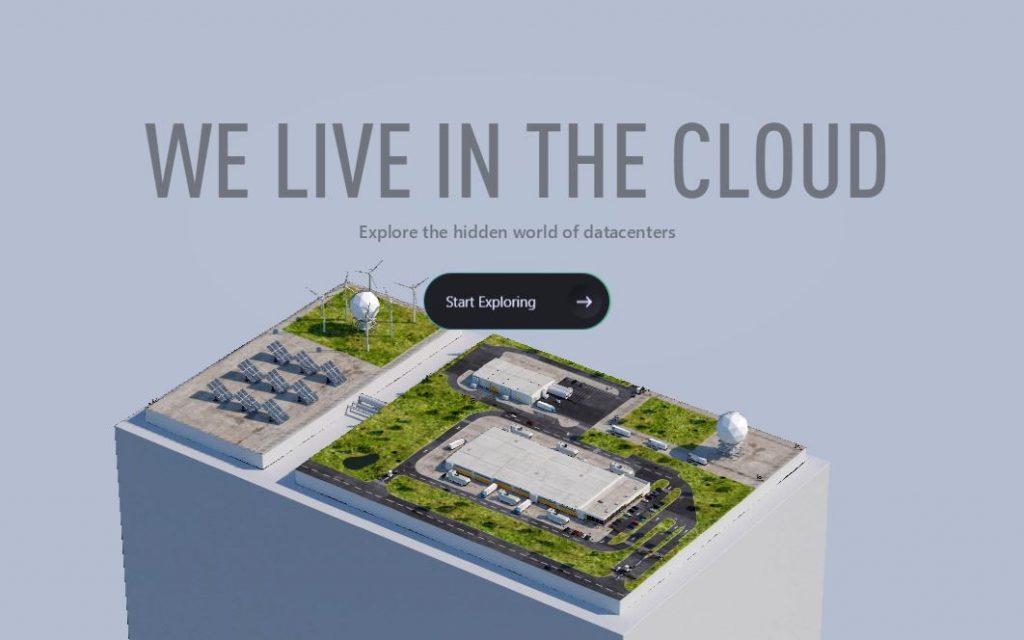 3D tour datacenter Microsoft