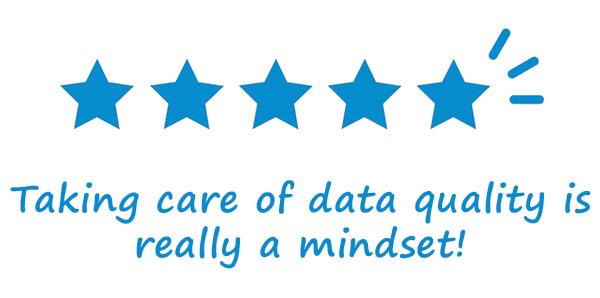 Net IT Blog Datakwaliteit in CRM verbeteren data quality is mindset