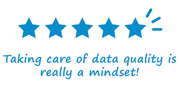 Net IT Blog Data quality in CRM improve data quality is mindset