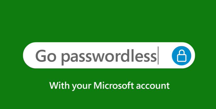 Go passwordless with your Microsoft Account